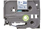 Brother TZe-243 Tape Blue on White Laminated, 18mm, 8m - Eco