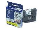 Brother TZe-231 Tape Black on White Laminated 12mm - Eco
