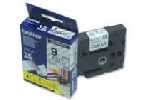 Brother TZe-121 Tape Black on Clear Laminated 9mm - Eco