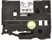 Brother TZe-FX261 Labelling Tape Cassette, Black on White Flexible-ID, 36mm wide