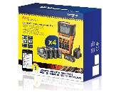 Brother PT-E550WVP Handheld Industrial Labelling system + 1x TZEFX231, TZE241, TZE251, TZE651