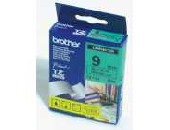 Brother TZe-721 Tape Black on Green, Laminated, 9mm, 8m - Eco